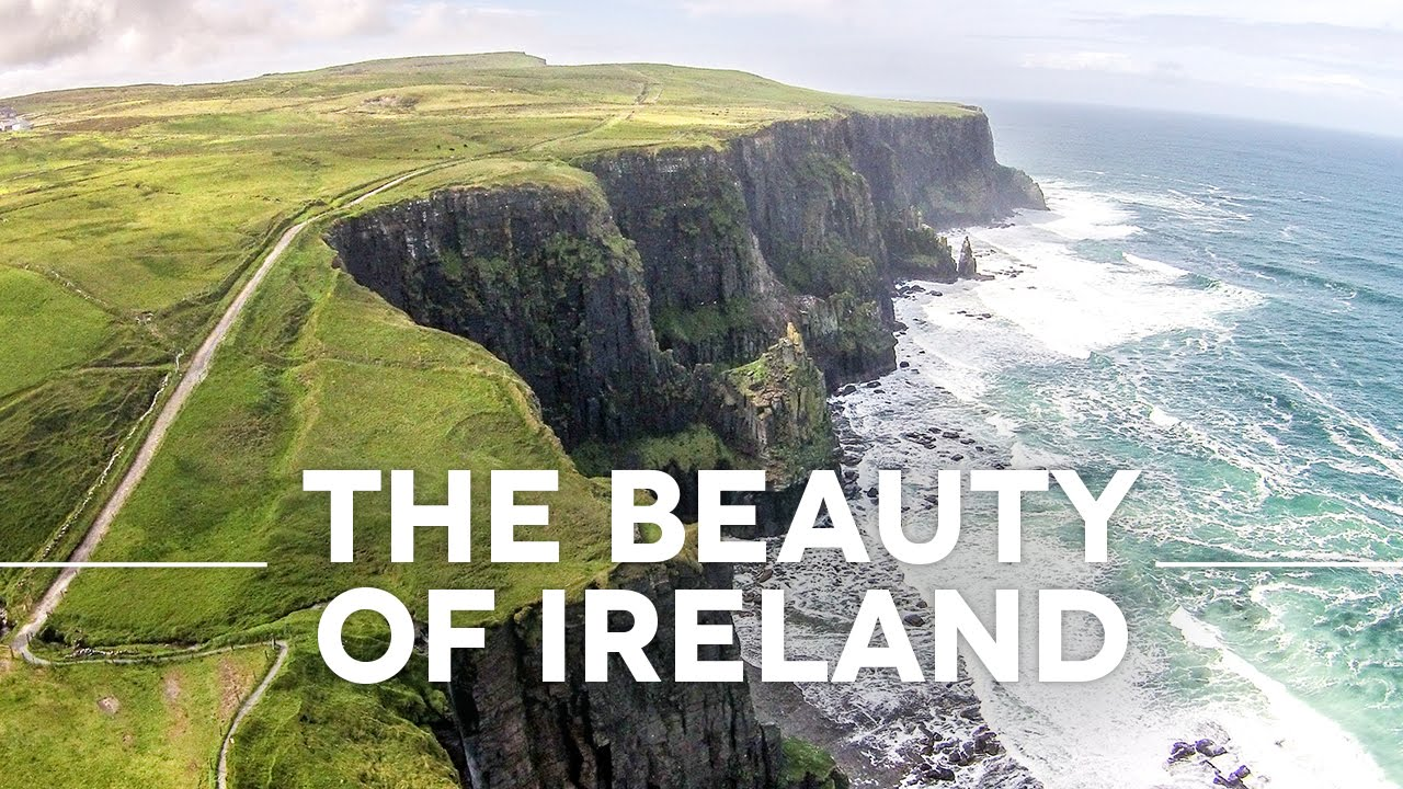 beauty of ireland by drone – irland drohne