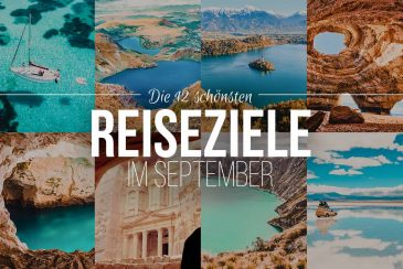 Reiseziele September Inspiration