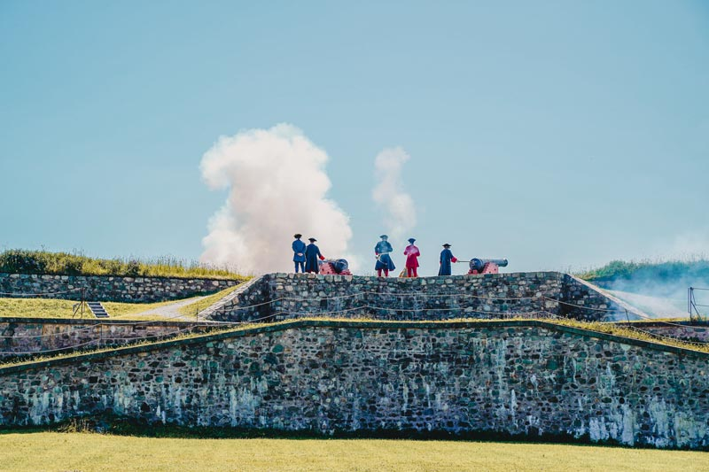 Fortress of Louisbourg Nova Scotia