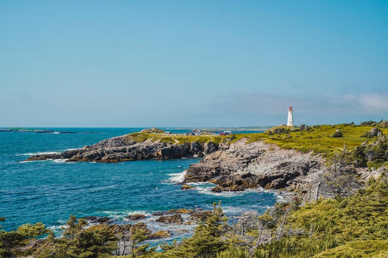 Lighthouse Trail Louisbourg