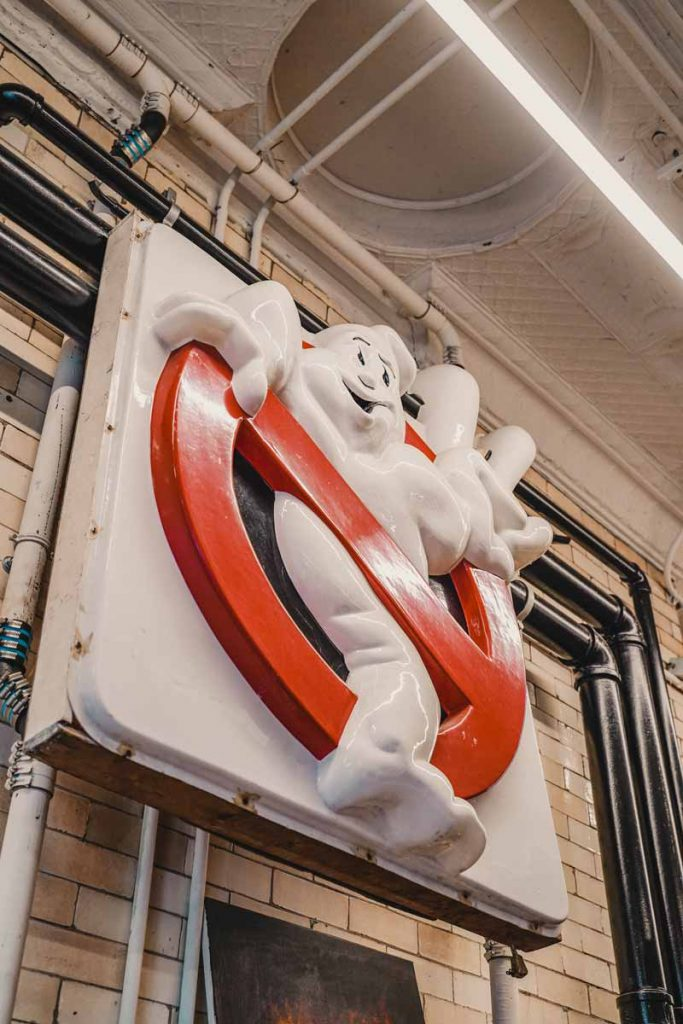 Ghostbusters Firehouse New York