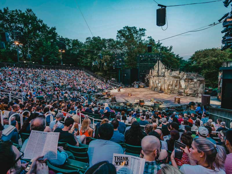 Shakespeare in the Park – Delacorte Theater
