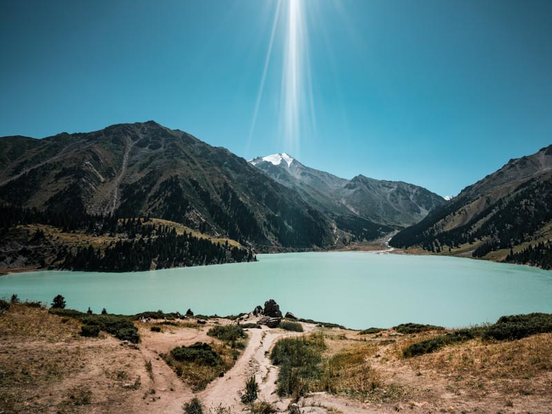Kasachstan Highlights Big Almaty Lake