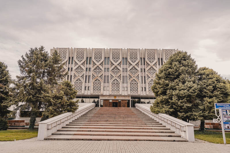 Das State Museum of History of Usbekistan in Taschkent