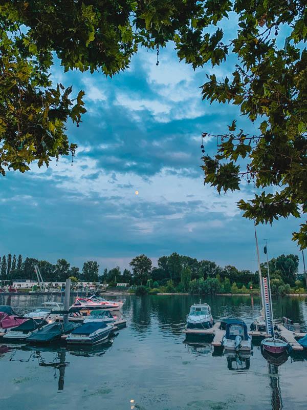 Wiesbaden Ausflugstipps- Schiersteiner Hafen