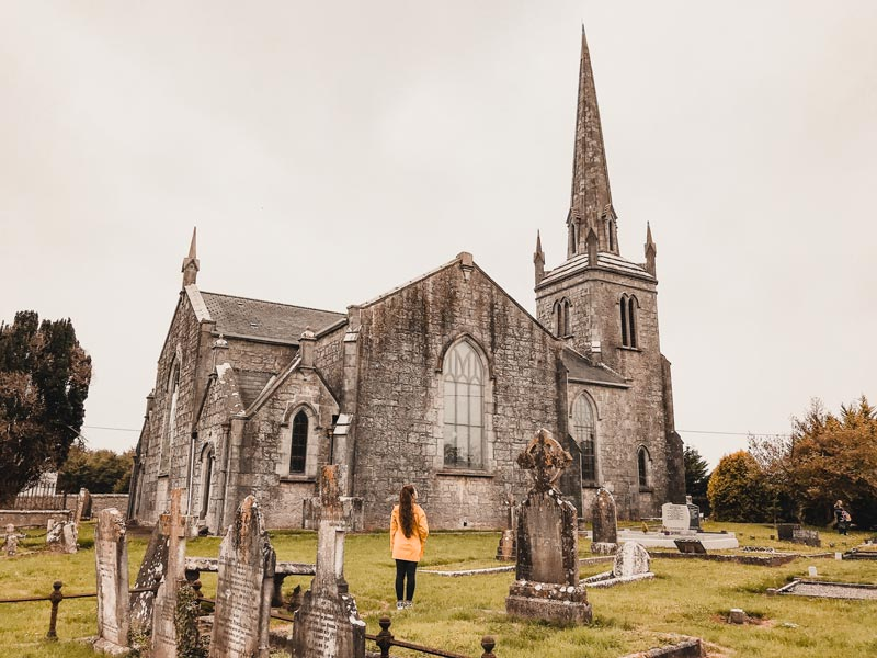 Banagher Kirche – Hausboot Irland Shannon Le Boat