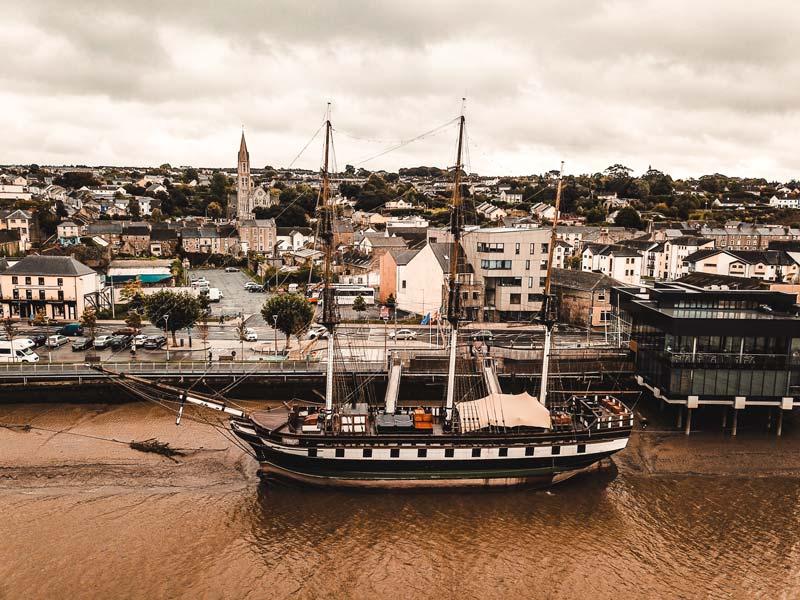 Dunbrody Famine Ship – Irlands Südosten Sehenswürdigkeiten