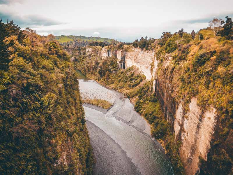 Neuseeland Nordinsel Highlights Rangitikei River Gorge