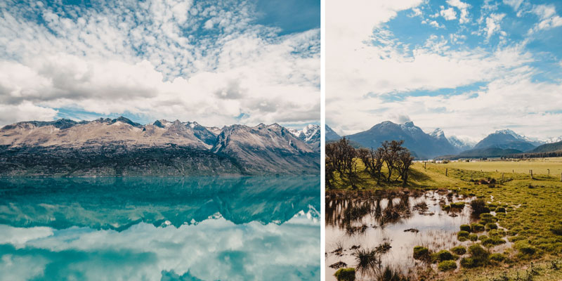 Neuseeland Südinsel Highlights Glenorchy